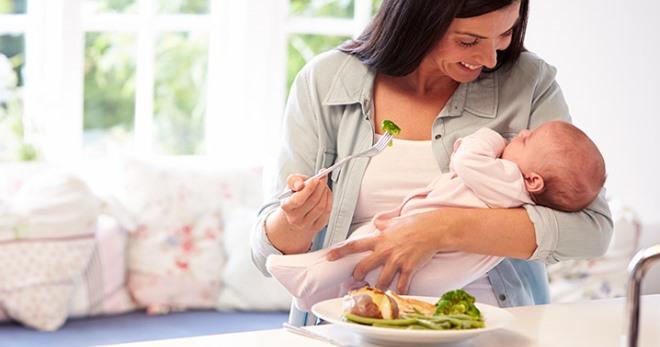 кормящая мама первый месяц чай