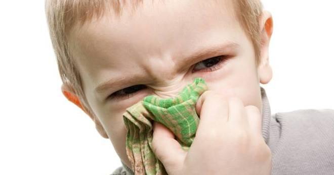 При зеленых соплях ребенку что капать
