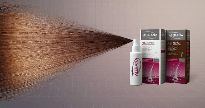 Алерана спрей против выпадения волос состав