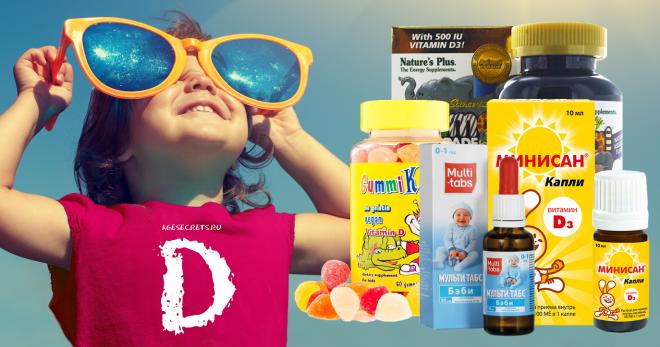 Как определить недостаток витамина д у ребенка