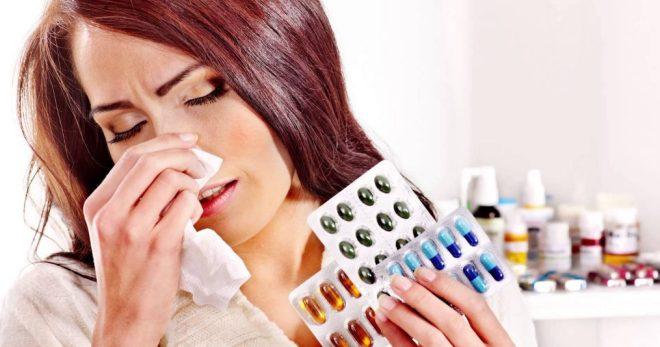Аллергия на антибиотики проявление