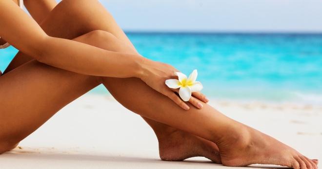 Как обезболить ноги перед депиляцией