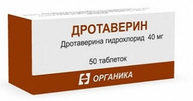 Через сколько действует дротаверин в таблетках
