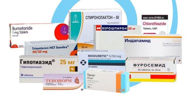 Мочегонные лекарства - Болезни почек