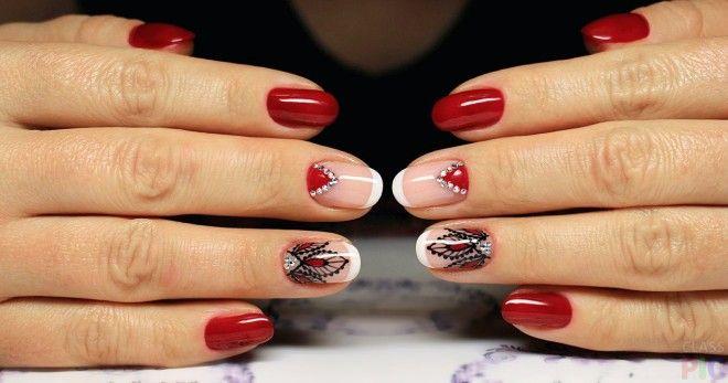 Красный маникюр на короткие ногти – 48 ярких идей, на которые все обратят внимание