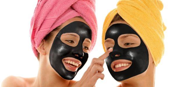 черная маска в домашних условиях