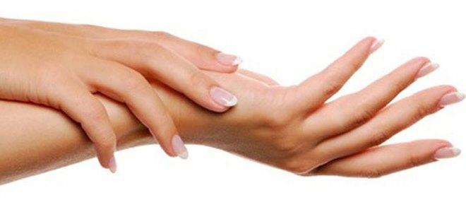 Как выглядит грибок между пальцами рук
