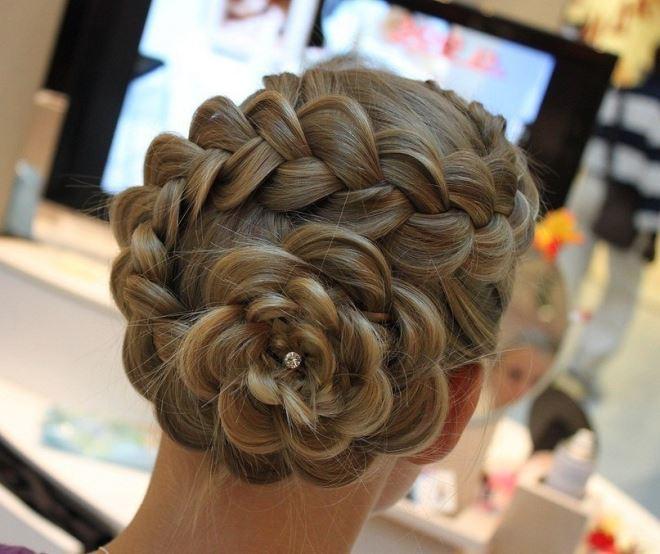 Колосок французская коса3