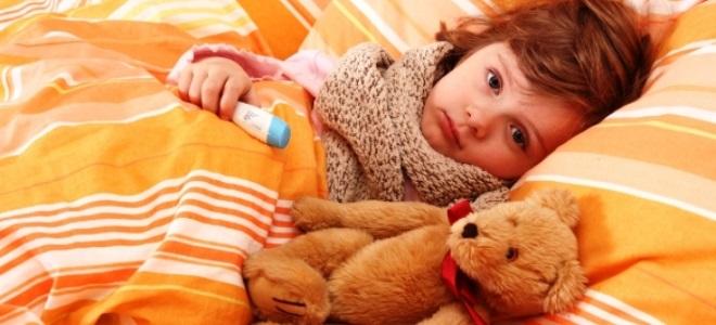 Сколько длиться орви у ребенка