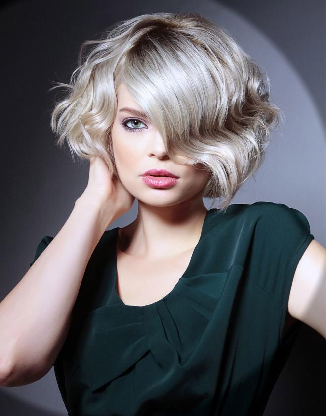 стрижка боб на вьющиеся волосы 1