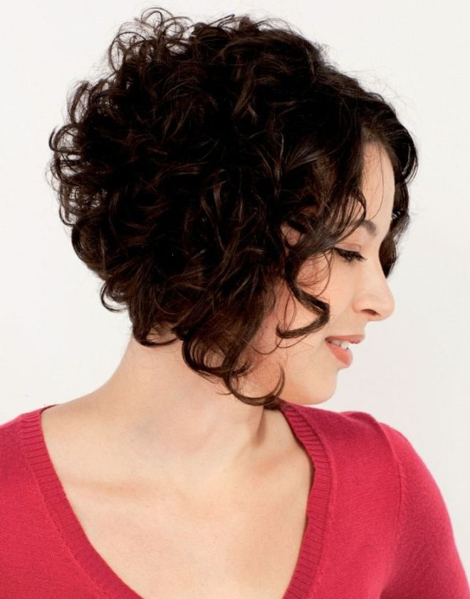 стрижка боб на вьющиеся волосы 3