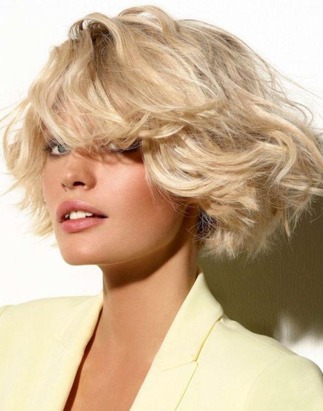 стрижка каре на вьющиеся волосы 1