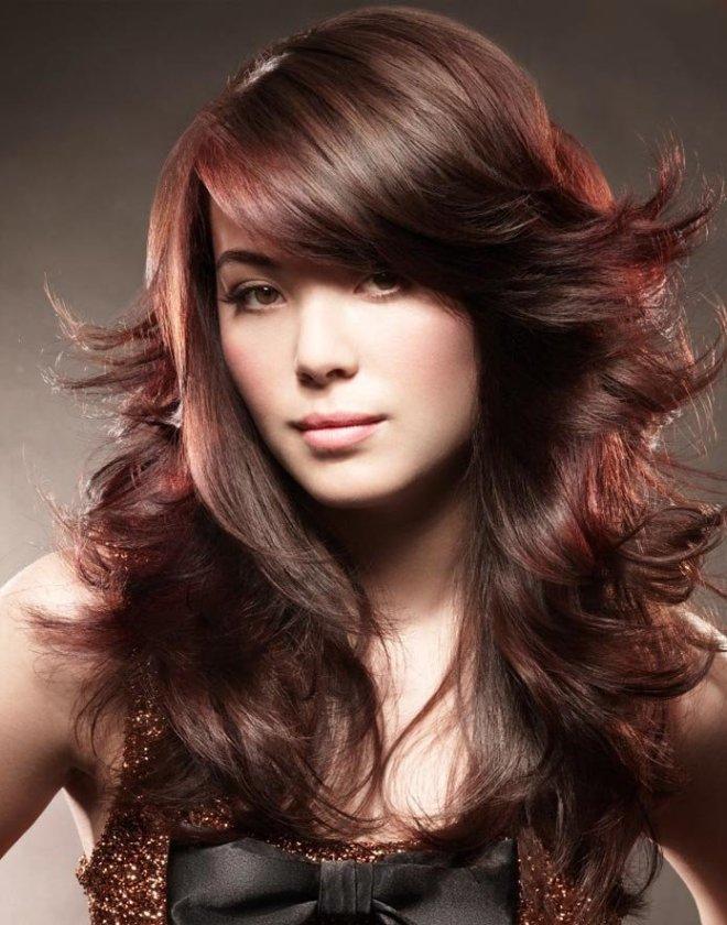 стрижка каскад на вьющиеся волосы 3
