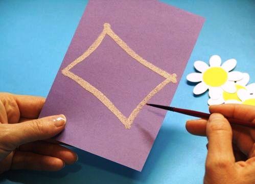 Сделать открытку своими руками без клея