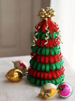 Поделка «Новогодняя елка» для детского сада