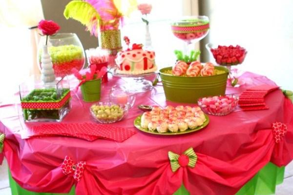 праздничный стол на день рождения ребенка