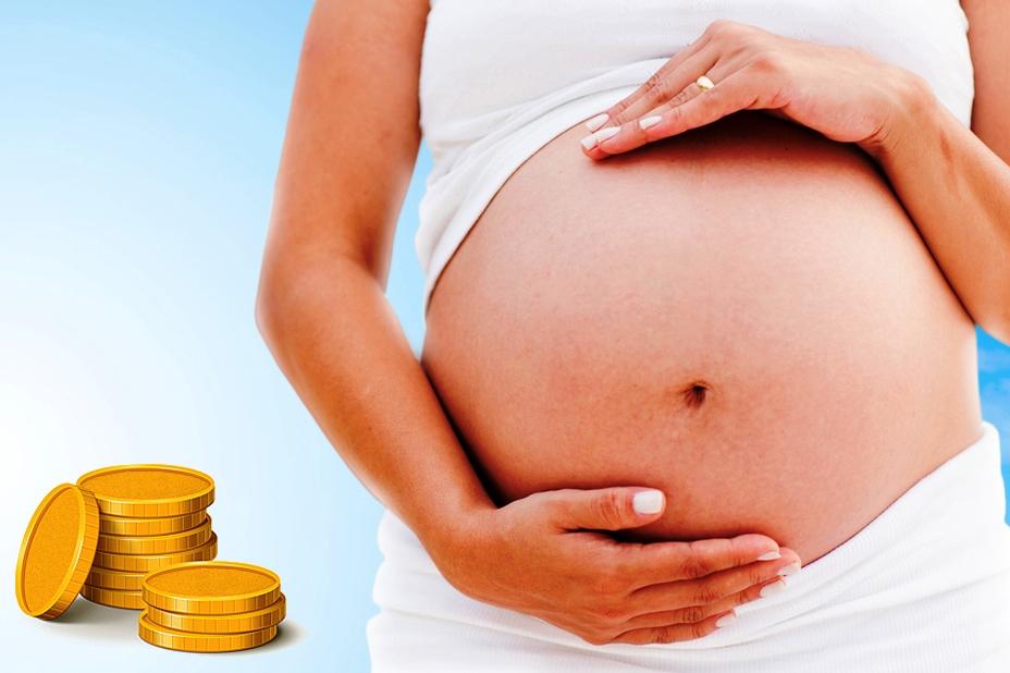 Как выплачивают декретные до родов или после
