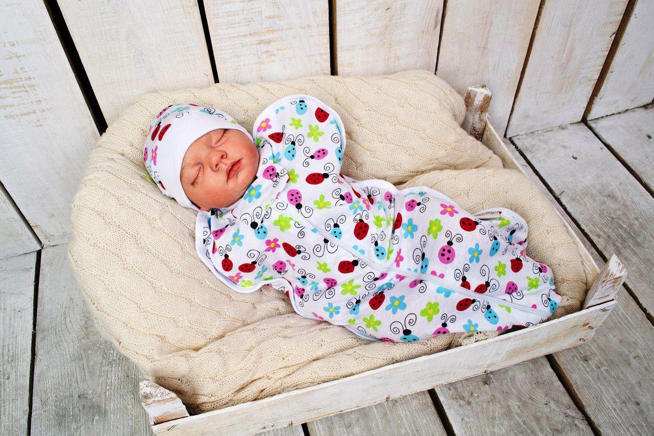 Сшить кокон пеленка для новорожденных на молнии своими руками