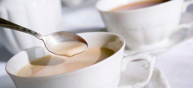 молоко с чаем при грудном вскармливании