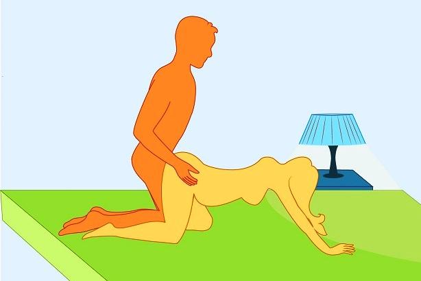 беременным поза в секса картинках для