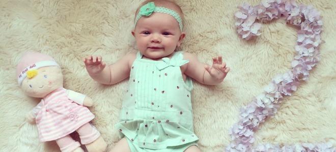 Ребенок 2 месяца и фото