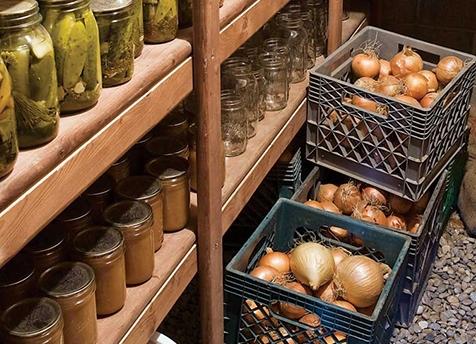 Как сделать короб для хранения картошки в подвале