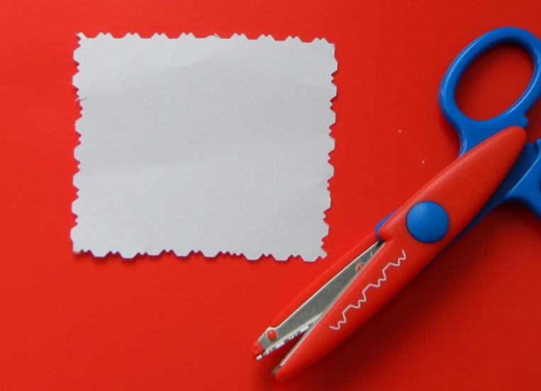 Открытки фигурными ножницами волной для мамы, марта гофрированной бумаги