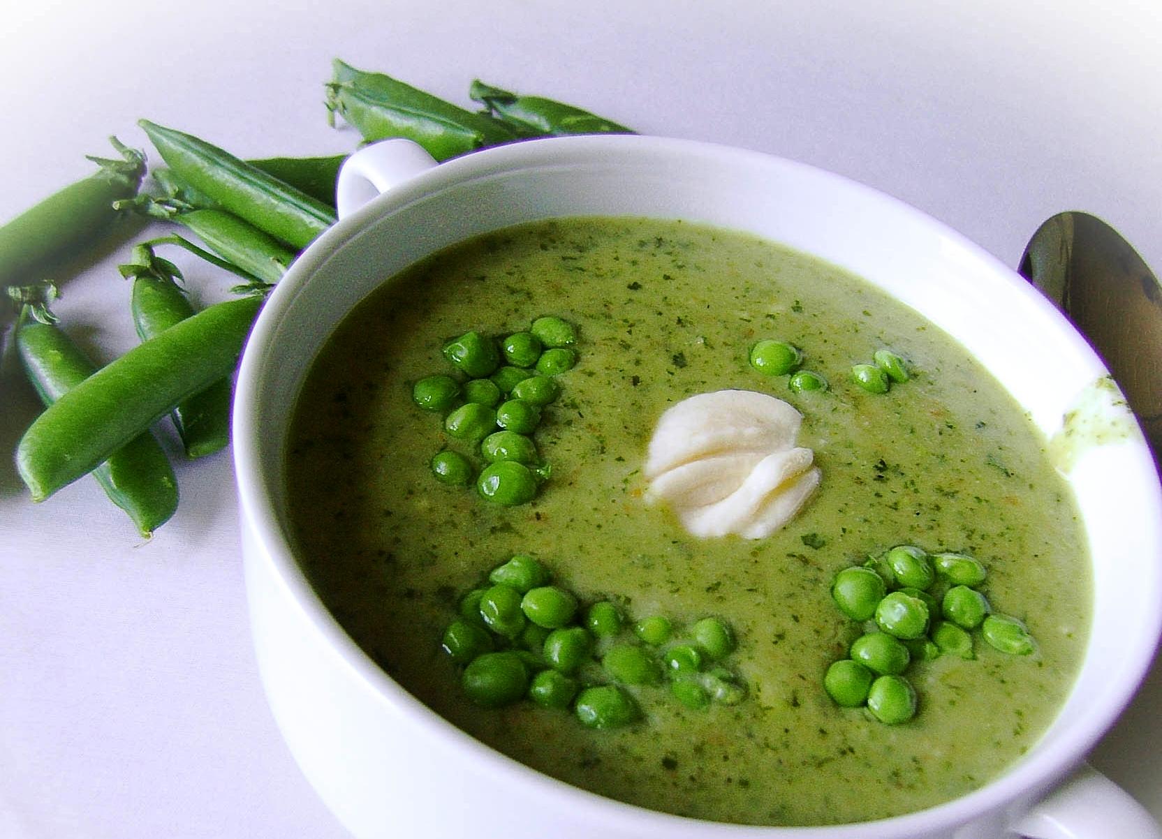облачилась суп из свежего гороха рецепт с фото исследование имеет