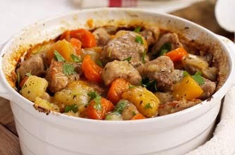 Куриное рагу с картошкой