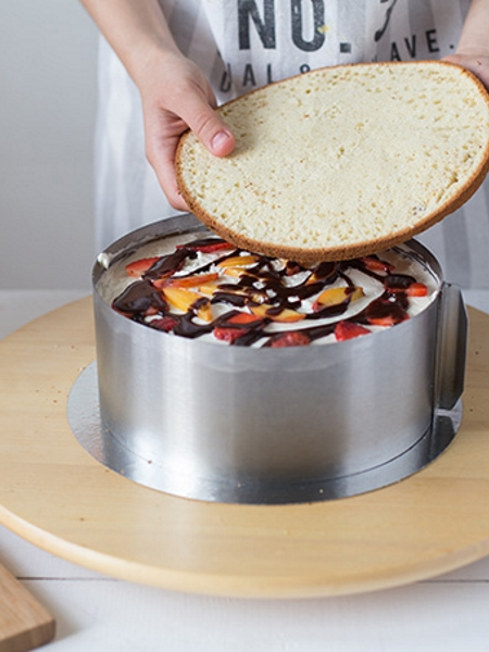 Как сделать торт без мастики