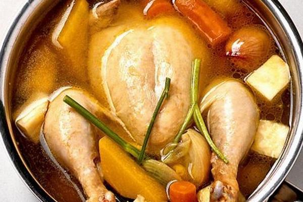 Как сварить курицу целиком