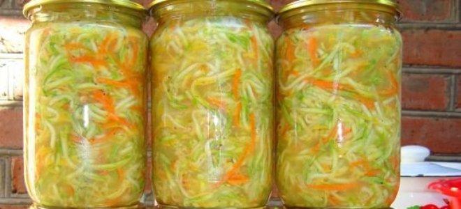 как сделать салат из кабачков