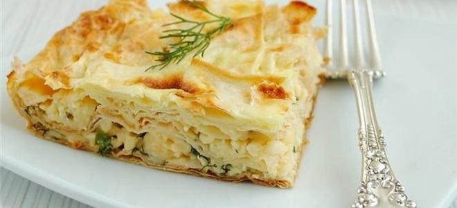ачма из лаваша с сыром и творогом рецепт с фото