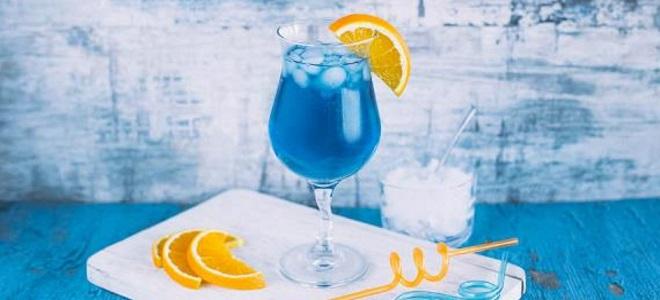 алкогольный коктейль голубая лагуна