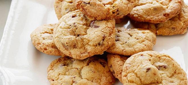 Печенье с черным шоколадом: оригинальный рецепт изоражения