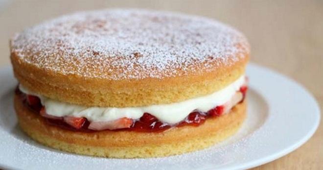 как приготовить вкусний бисквит