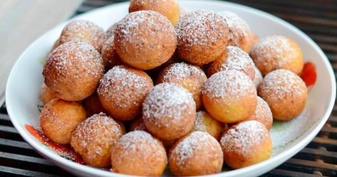 Творожные шарики жареные в масле пошаговый рецепт с разрыхлителем