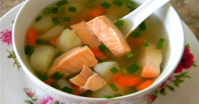 с супа из рыбы рецепты фото