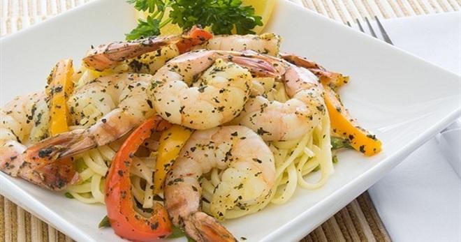 Рецепт креветки жареные по-итальянски 9