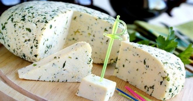 Как приготовить творожный сыр с зеленью в домашних условиях 11