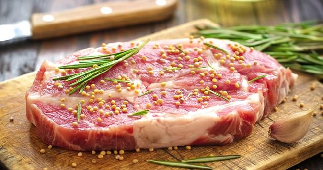 Мясо свинина маринад из сметаны