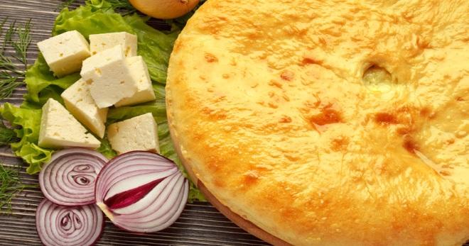 Осетинский пирог с сыром - рецепты правильного теста и вкусных начинок