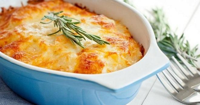 Рецепты из картофеля и грибов