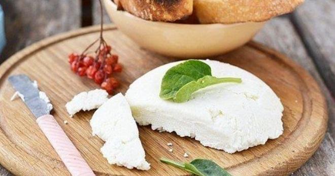Мягкий сыр из творога