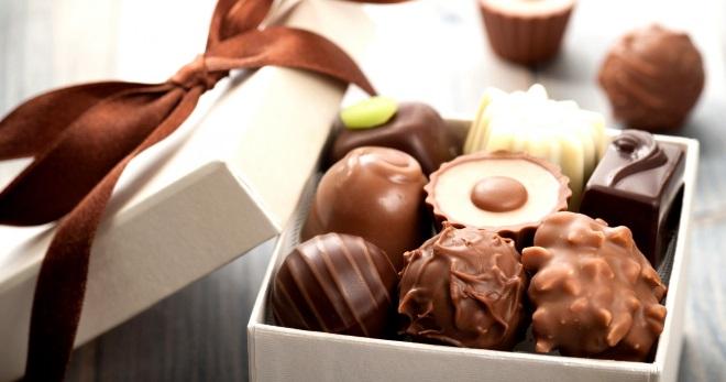 Шоколад своими руками с текстом 842
