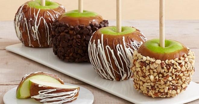 Карамельное яблоко рецепт в домашних условиях