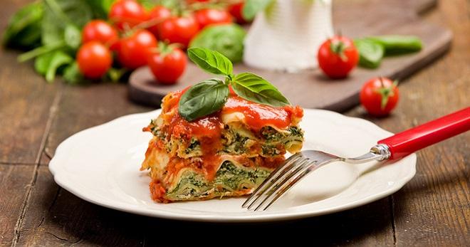 Овощная лазанья - вкусные рецепты знаменитого итальянского блюда