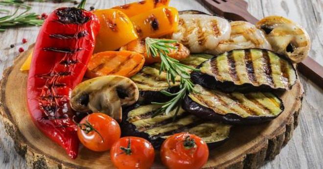 Овощи гриль в духовке как приготовить