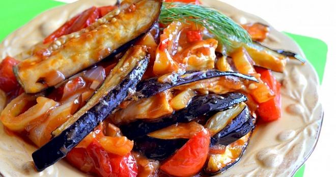 Вкусные рецепты с баклажанами