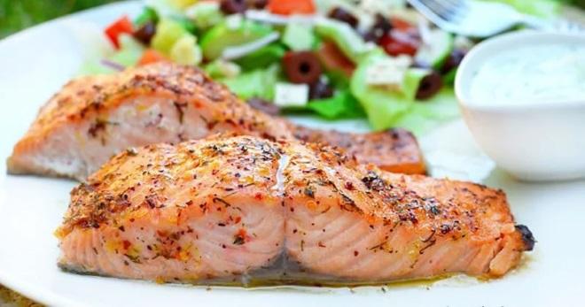 Рецепт приготовления красной рыбы под соусом рецепт приготовления сырно чесночного соуса